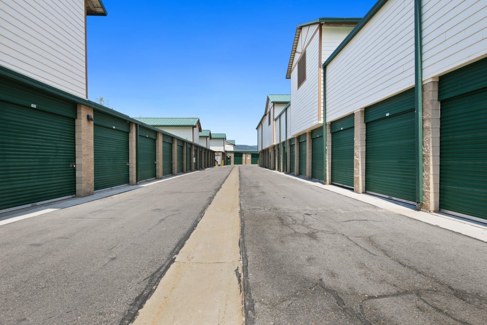 Plenty of units at Market Place Self Storage in Park City, Utah