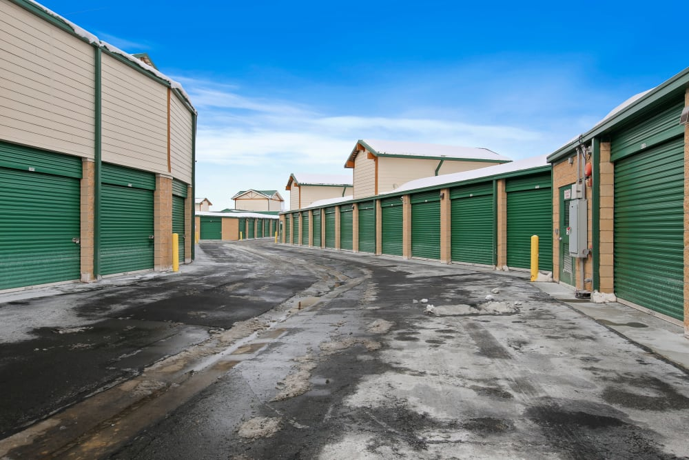 Units at Market Place Self Storage