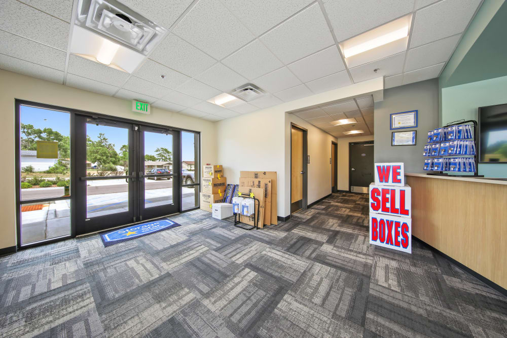 Front office at Storage Star South College in Fort Collins, Colorado