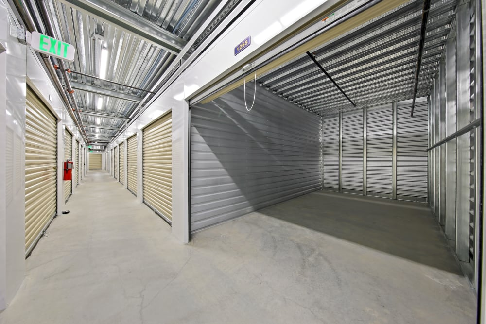 Large open model storage unit at Storage Star South College in Fort Collins, Colorado