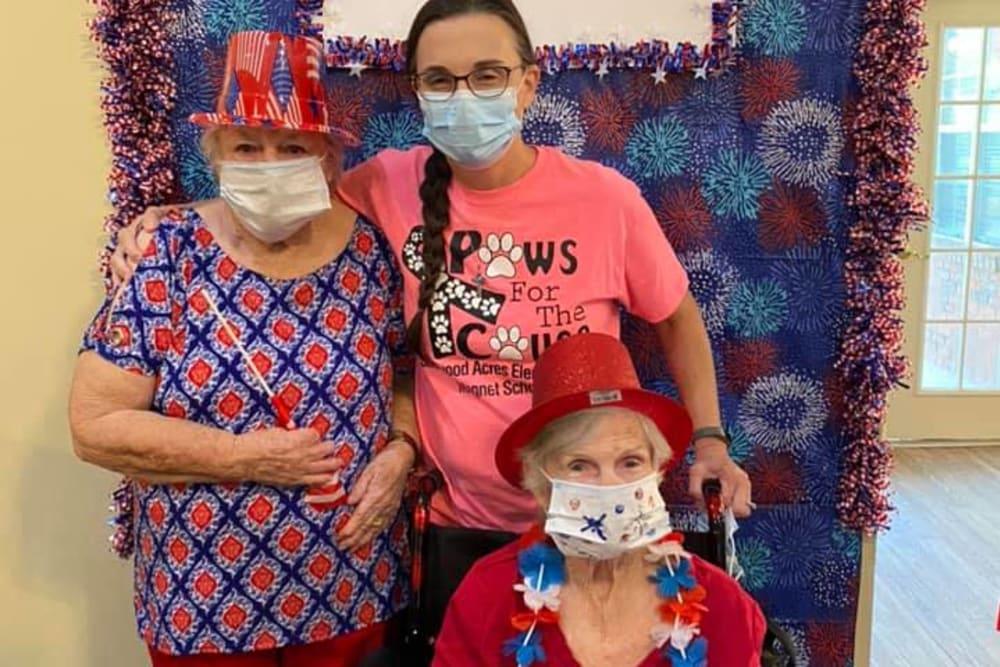 Family at Savannah Court of Camilla Senior Living