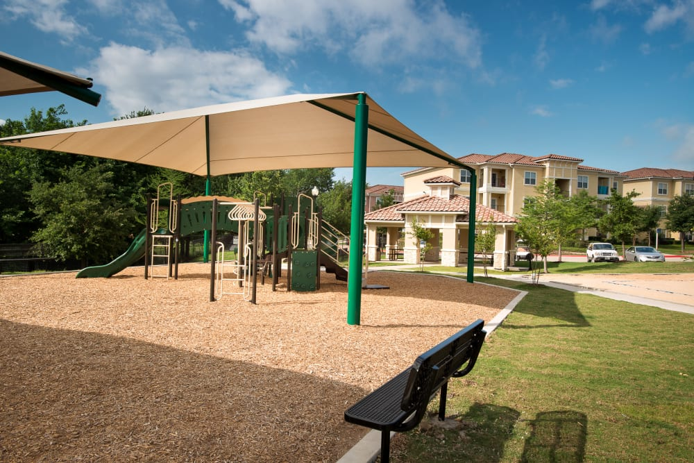 Playground at Estancia at Ridgeview Ranch in Plano, Texas