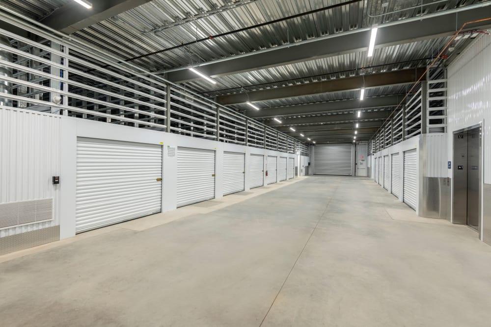 Large storage units at Mesa, Arizona