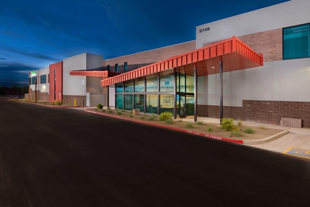 View of the facility at Mesa, Arizona