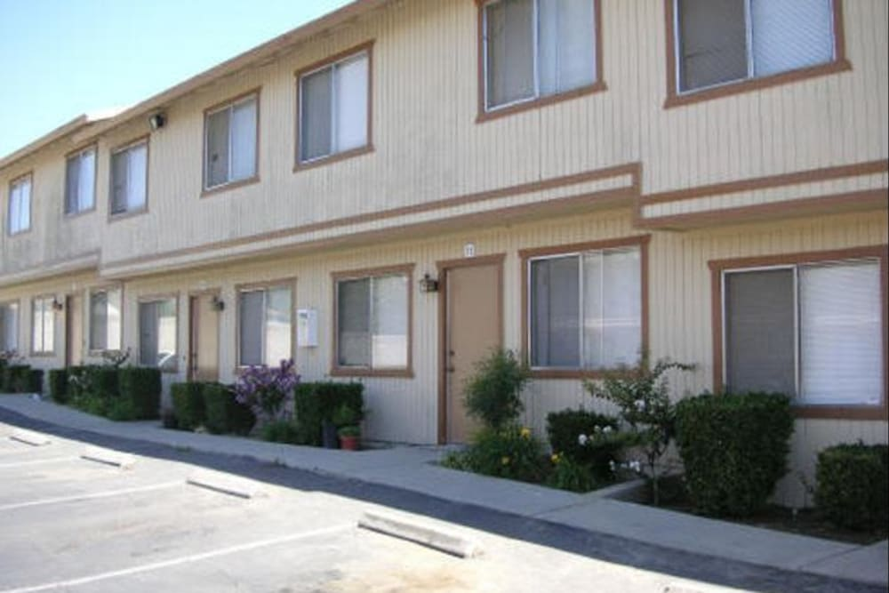 Exterior at Olympus Court Apartments in Bakersfield, California