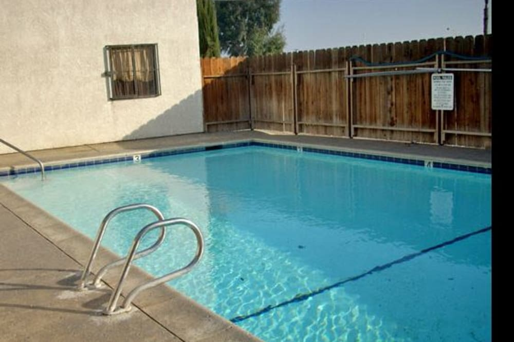 Pool at El Potrero Apartments in Bakersfield, California