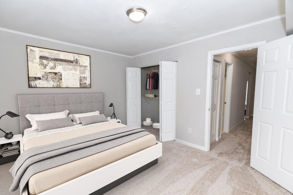 Bedroom at The Ashford Apartment Homes