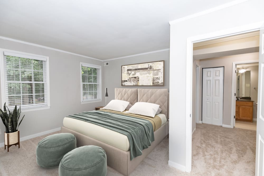 Second Bedroom at The Ashford Apartment Homes