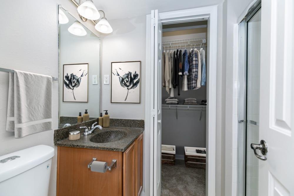 Bathroom at The Ashford Apartment Homes