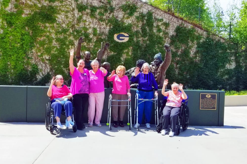 Residents at Wyndemere Assisted Living