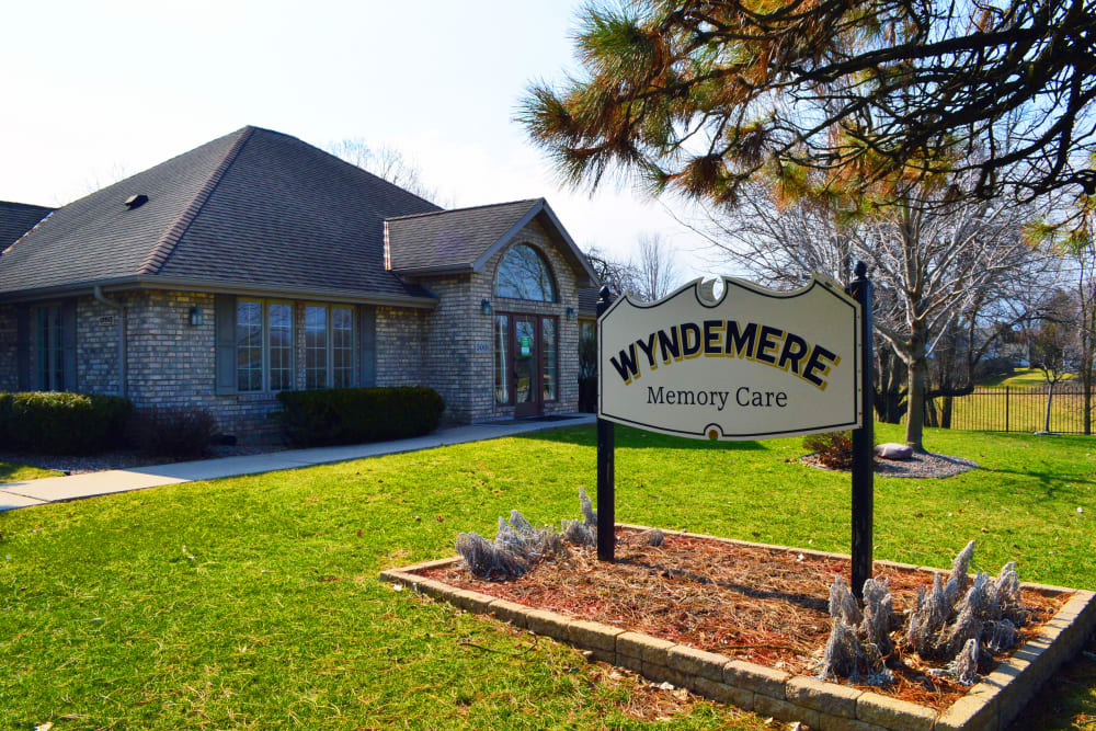 Entrance area at Wyndemere Assisted Living