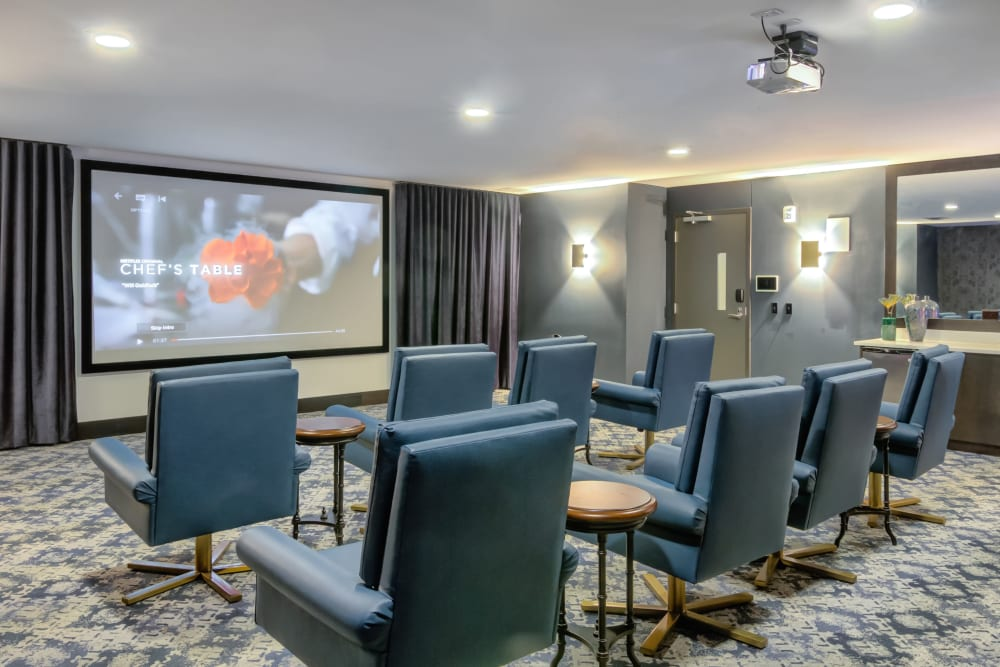 Movie Theater at The Link Minneapolis | Student Apartments in Minneapolis, Minnesota