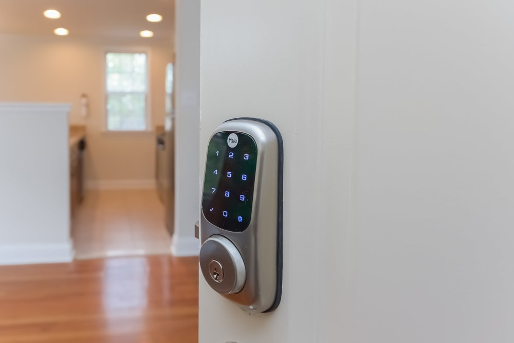 Home Smart Lock at Hill Brook Place Apartments in Bensalem, Pennsylvania