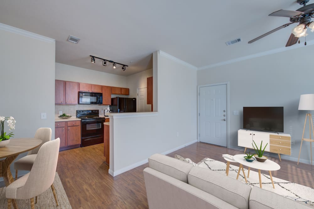 Open Concept Kitchen at Ingleside Apartments in North Charleston, South Carolina