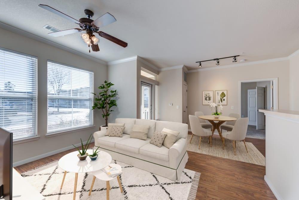 Living Room at Ingleside Apartments in North Charleston, South Carolina