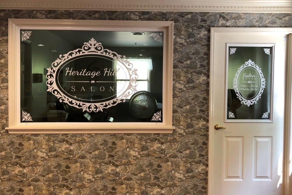 Beauty salon near Heritage Hill Senior Community in Weatherly, Pennsylvania