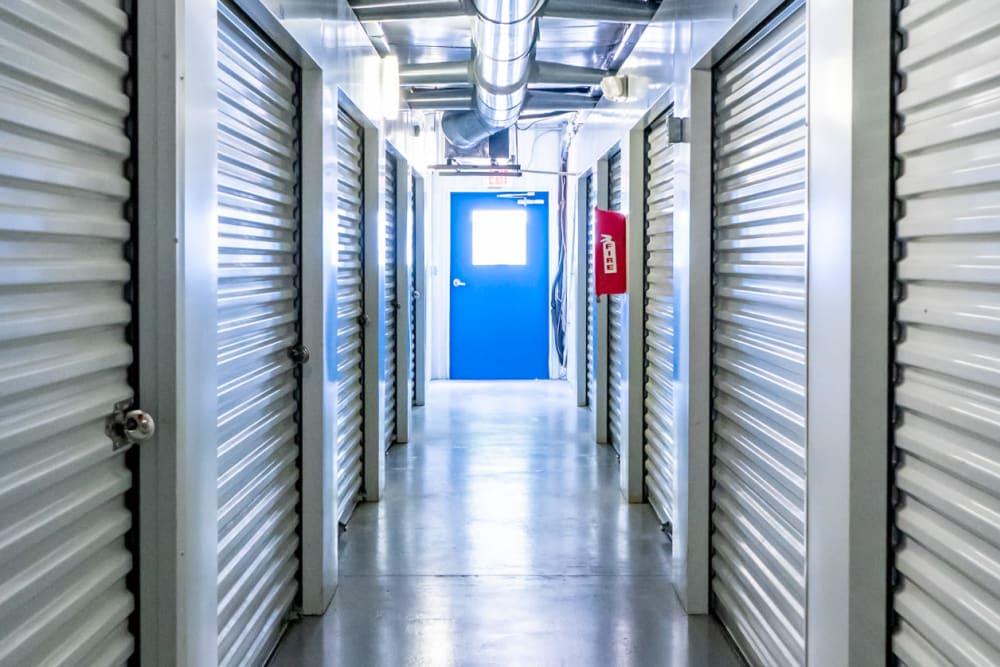 Plenty of air-conditioned units at Atlantic Self Storage in St Augustine, Florida
