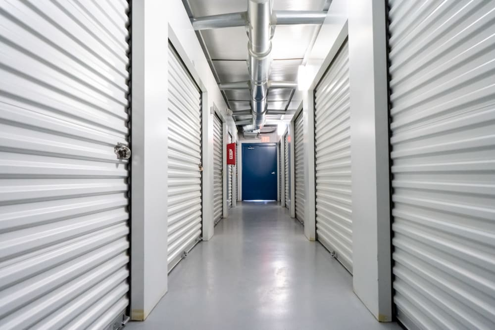 View of air-conditioned units at Atlantic Self Storage in St Augustine, Florida
