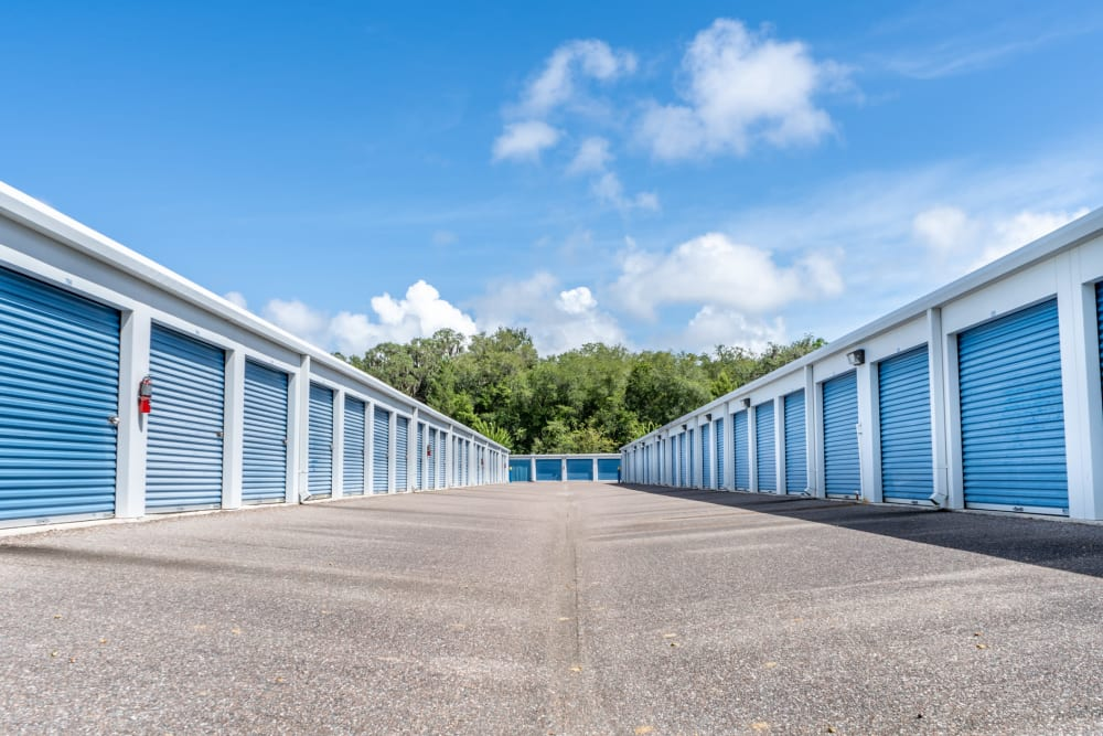 Plenty of units available at Atlantic Self Storage in St Augustine, Florida