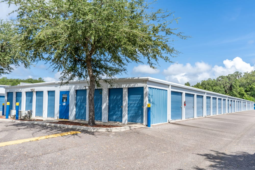Smaller outdoor units at Atlantic Self Storage in St Augustine, Florida
