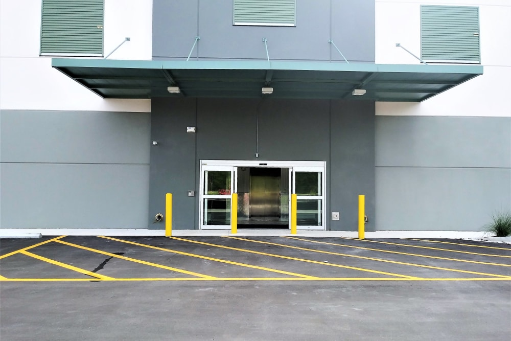 Front entrance at My Neighborhood Storage Center in Jacksonville, Florida
