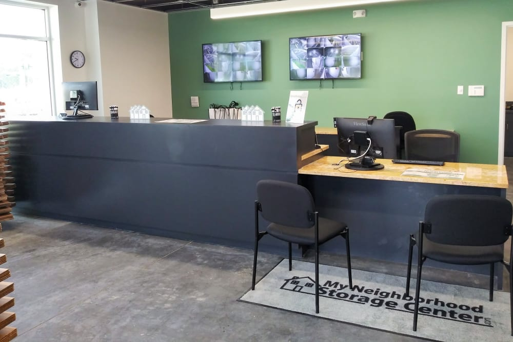 Office at My Neighborhood Storage Center in Jacksonville, Florida