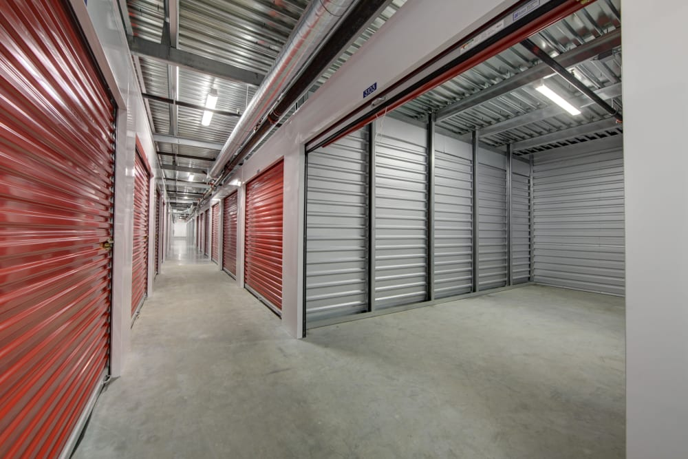 Internal storage units at Trojan Storage in Portland, Oregon