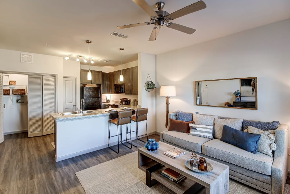 Model unit at The Emerson at Forney Marketplace