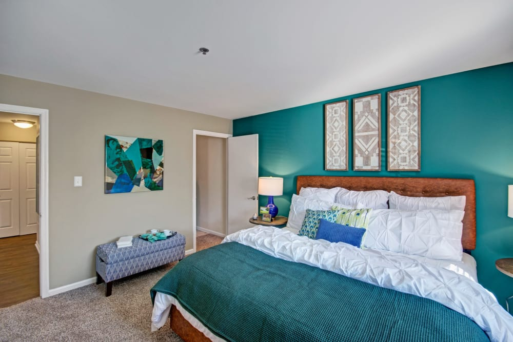 Spacious bedroom at Exton Crossing in Exton, Pennsylvania