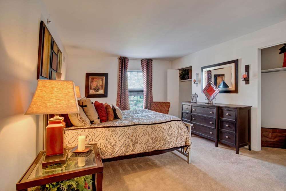 Our Luxury Apartments in Exton, Pennsylvania showcase a Bedroom