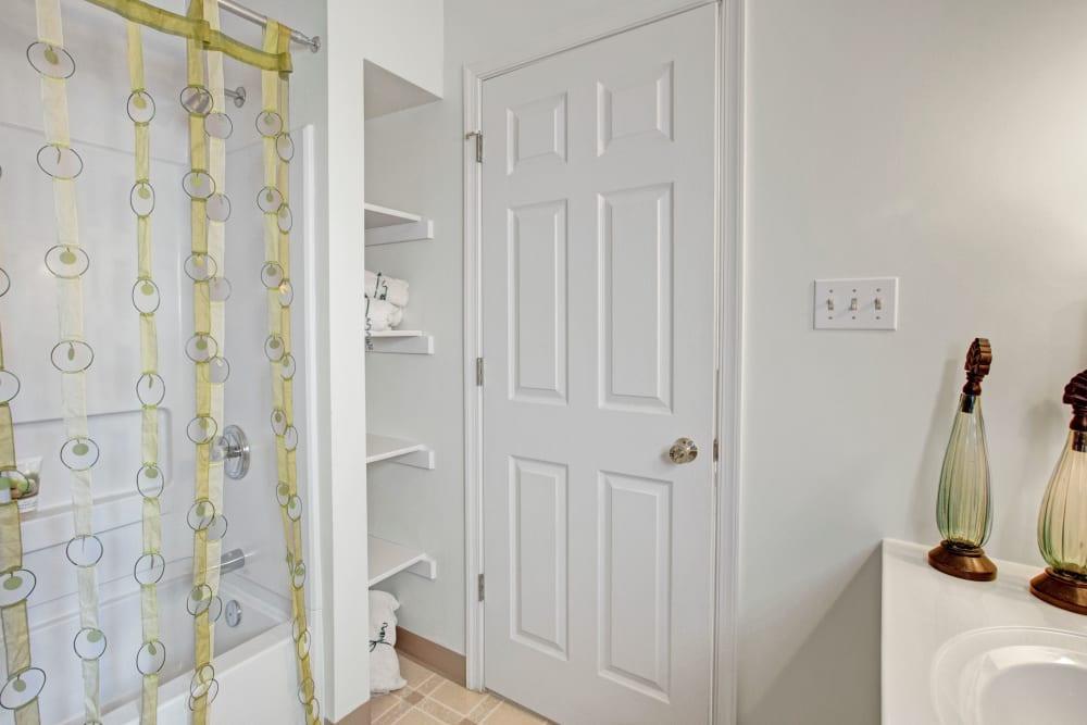Bathroom at Apartments in Exton, Pennsylvania