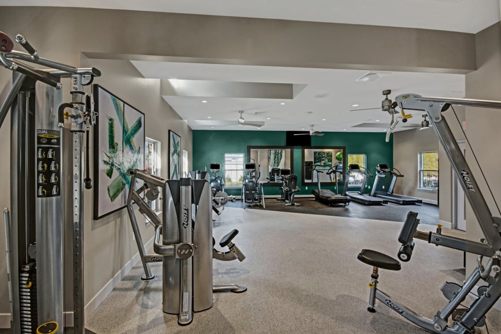State-of-the-art Fitness Center at Exton Crossing in Exton, Pennsylvania