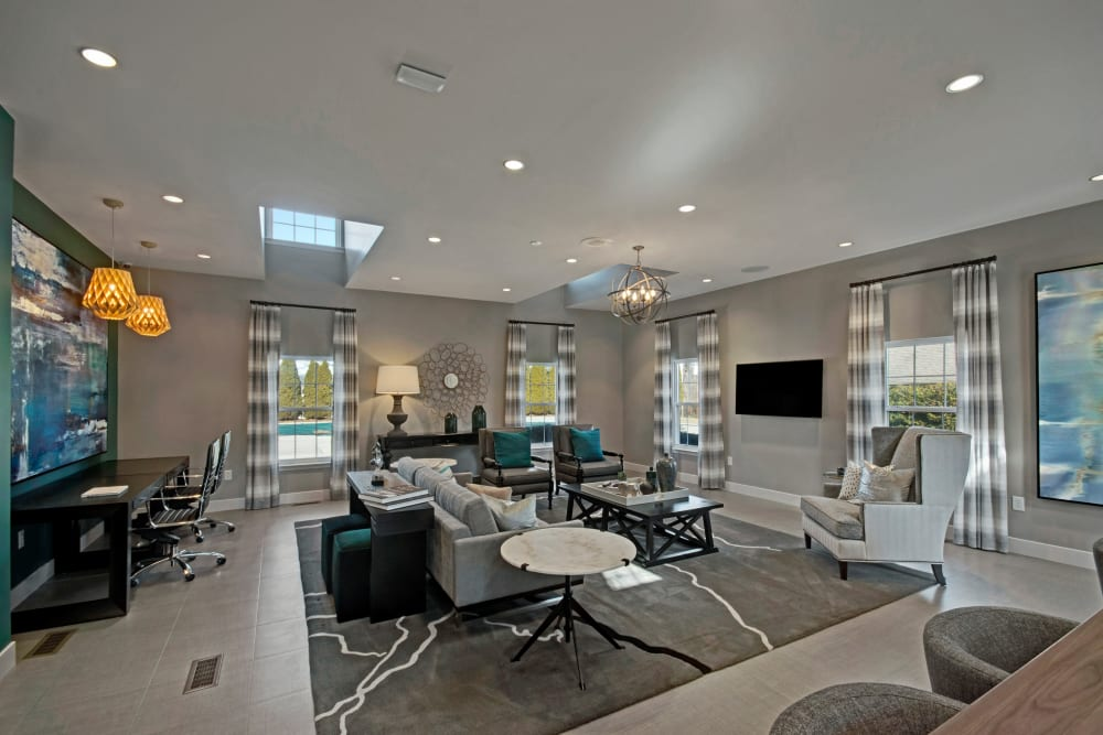 Spacious Clubhouse at Exton Crossing in Exton, Pennsylvania