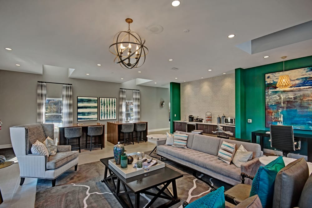 Enjoy our Unique Apartments Clubhouse at Exton Crossing