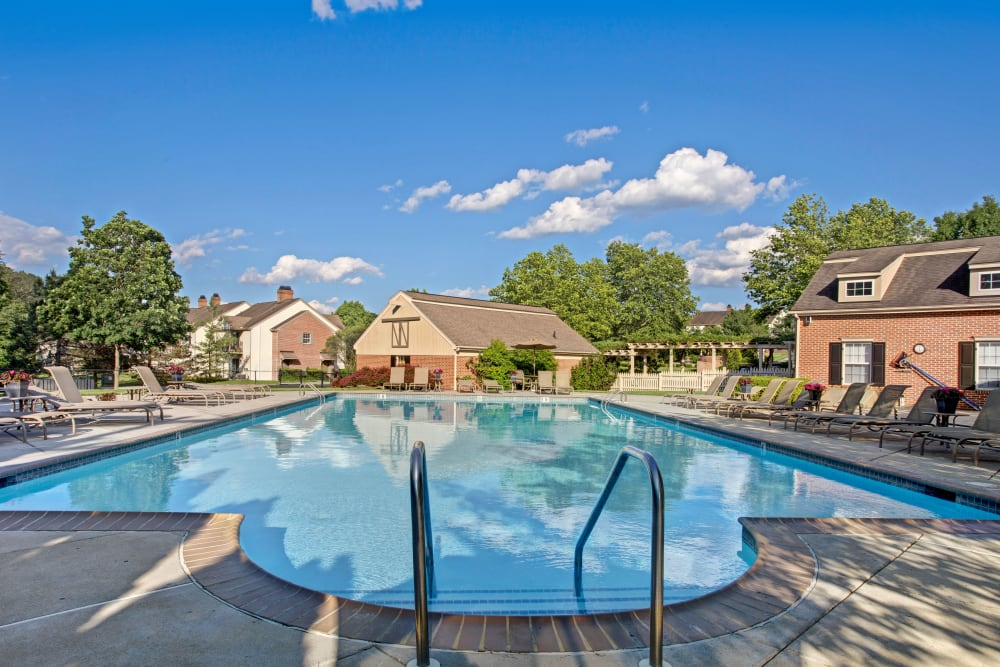 Luxury Swimming Pool at Exton Crossing in Exton, Pennsylvania