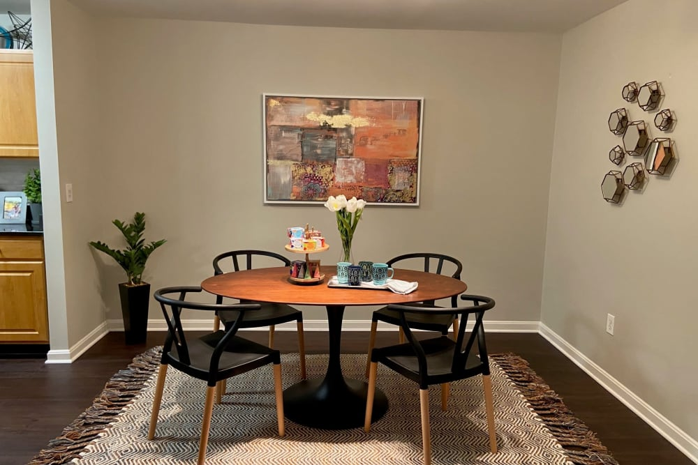 Dining Room at The Reserve at Ballenger Creek Apartments apartments in Frederick, Maryland