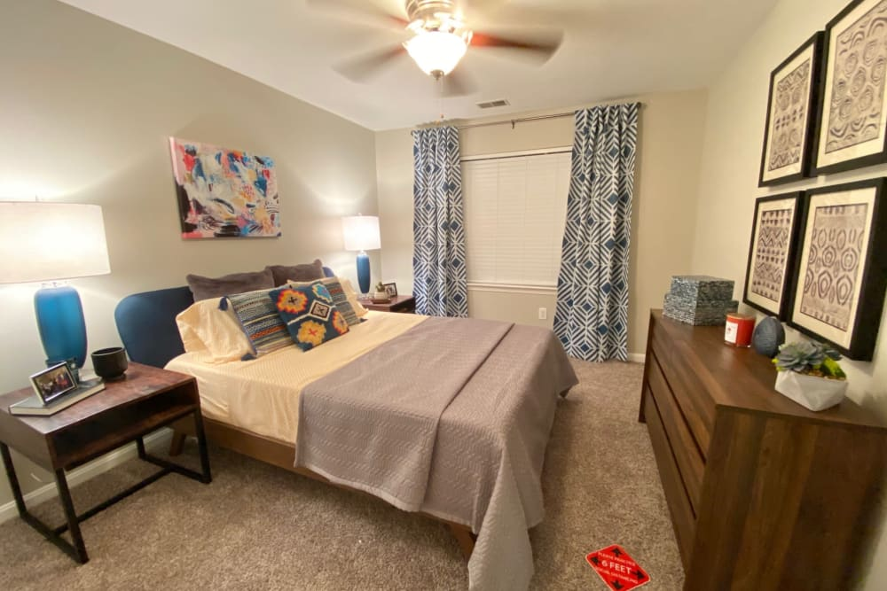 Bedroom at The Reserve at Ballenger Creek Apartments apartments in Frederick, Maryland