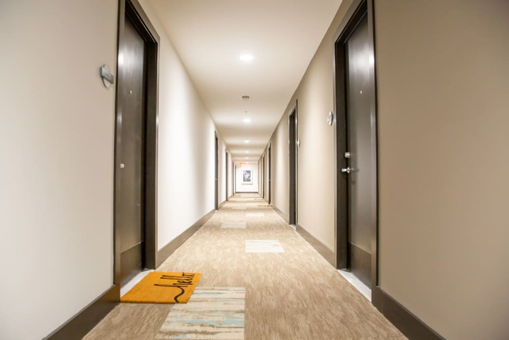 Hallway at Belcourt Park in Nashville, Tennessee