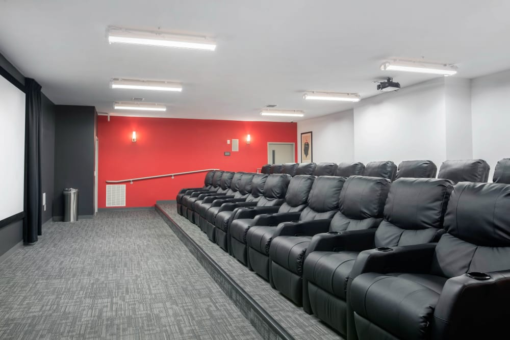Movie theater at Onyx in Tallahassee, Florida