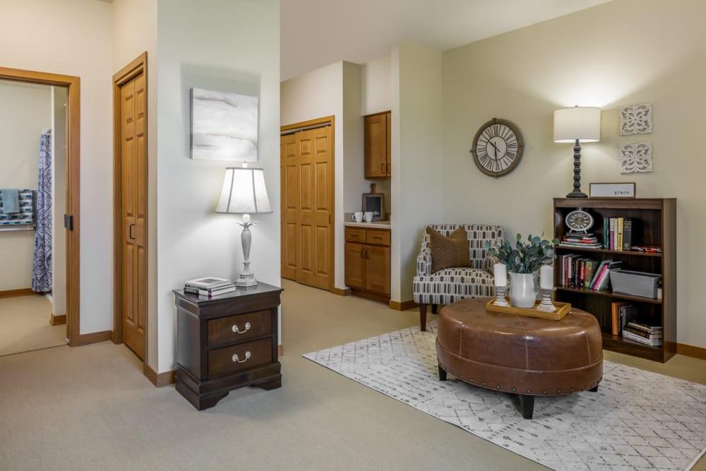 1 bedroom senior apartment in Edencrest at Siena Hills in Ankeny, Iowa