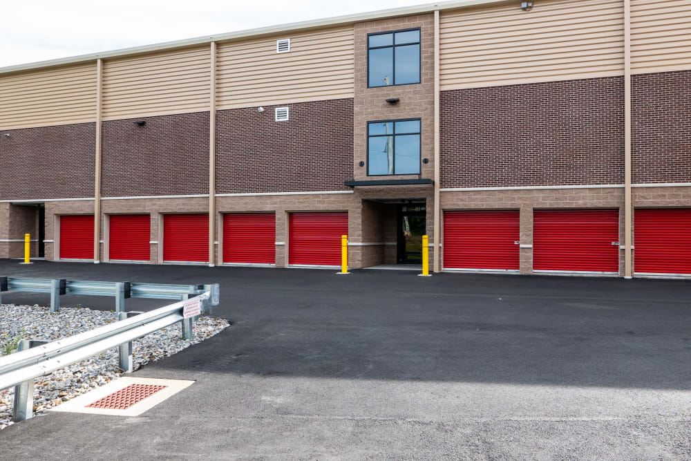 Large exterior units available at CT SELF-STOR