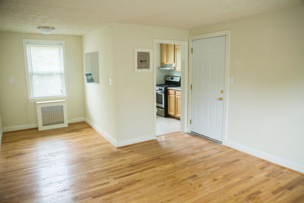 Very nice hard wood floors at Ivy Crossing at Catonsville in Catonsville, Maryland