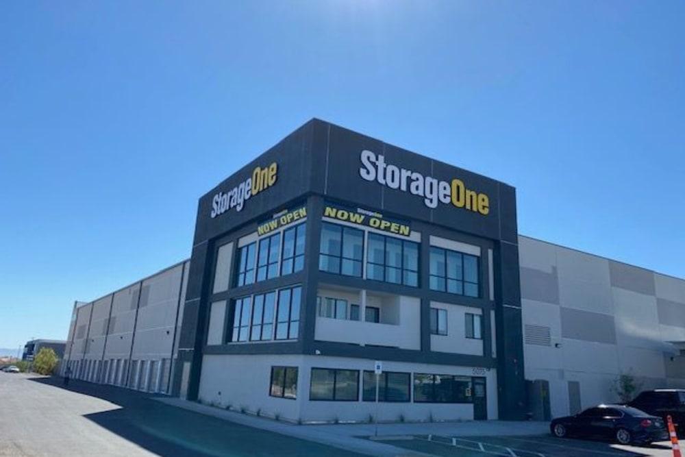 Exterior view of StorageOne Maryland Pkwy & Cactus in Las Vegas, Nevada