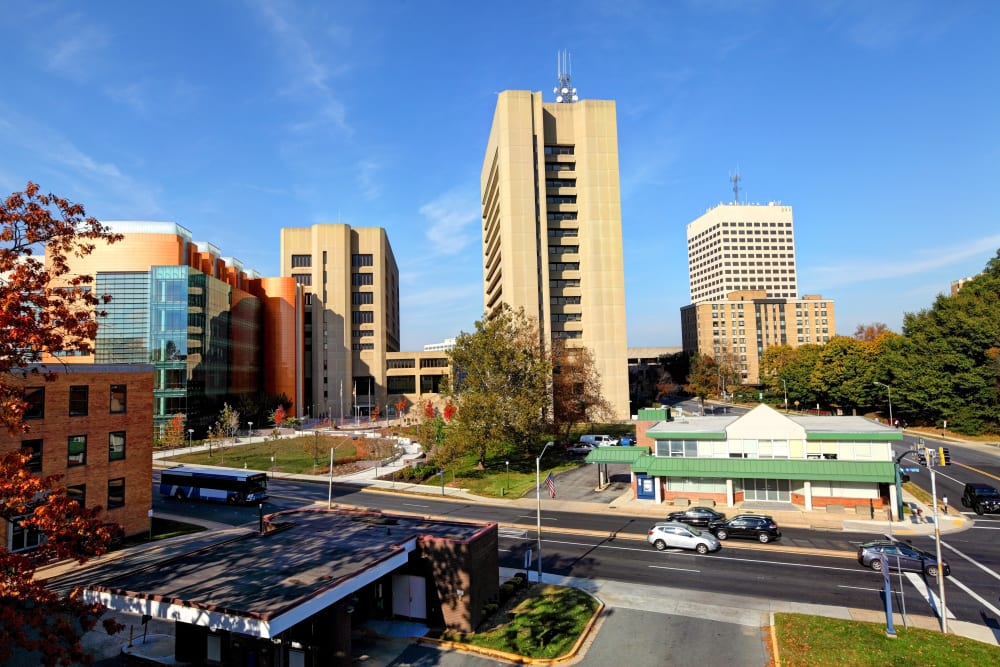 Skyline in Rockville, Maryland near CAPREIT