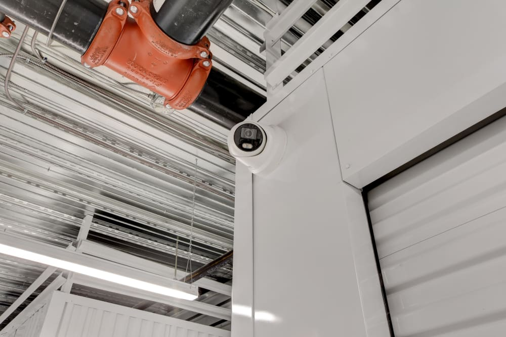 Security camera at Towne Storage in Las Vegas, Nevada