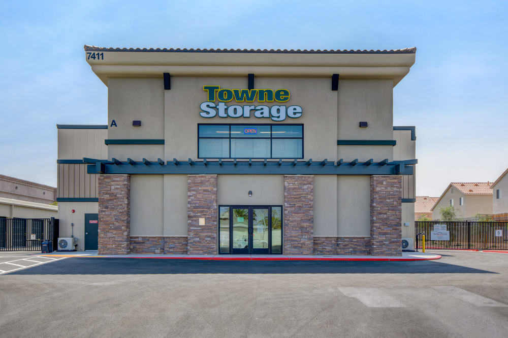 Front of the facility at Towne Storage in Las Vegas, Nevada