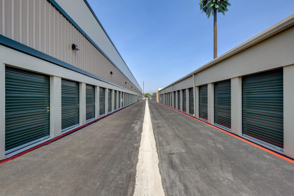 Exterior storage at Towne Storage in Las Vegas, Nevada