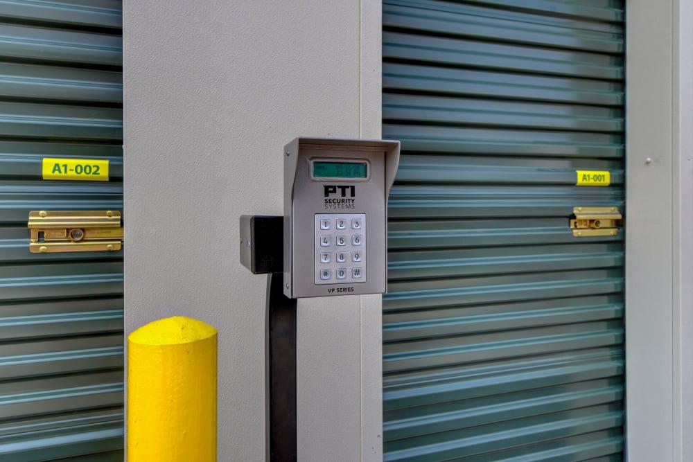 Keypad at Towne Storage in Las Vegas, Nevada