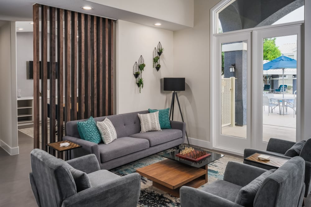 Cute living room at The Sterling in Gilbert, Arizona