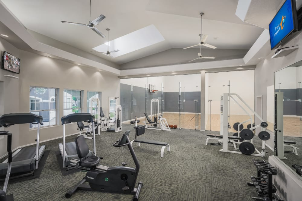 Fitness center at The Sterling in Gilbert, Arizona
